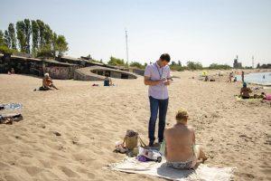 Pareigūnai tikrino paplūdimius: nuogalėms – baudos
