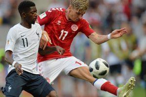Danijos futbolininkai pateko į pasaulio čempionato aštuntfinalį