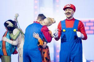 """""""Auksinio balso"""" scenoje – ir Eglė žalčių karalienė, ir Super Mario"""