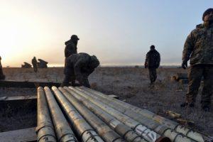 Donbase toliau pažeidžiamos paliaubos: apšaudo kone kasnakt
