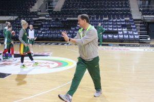 Lietuvos moterų rinktinė pradėjo pasirengimą atrankai