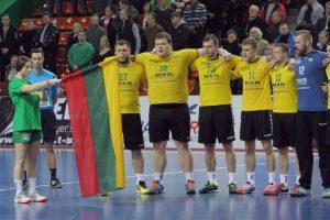 Lietuvos vyrų rankinio rinktinė Slovakijoje sieks pergalės