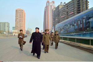 Šiaurės Korėjoje potvyniai sunaikino dešimtis tūkstančių pastatų