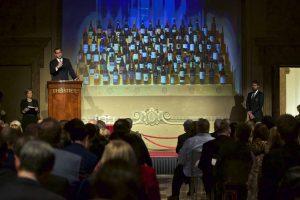 Iš Rusijos stendo Italijoje vykstančioje parodoje pašalinta 40 butelių Krymo vyno