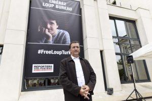 Turkijoje paleistas terorizmu kaltintas prancūzų žurnalistas