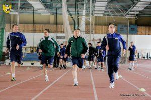 Lietuvos futbolo teisėjai pradėjo pasiruošimą 2014 metų sezonui