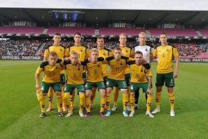 Vilties neteikia ir jaunimas: Danija sutriuškino Lietuvos futbolininkus