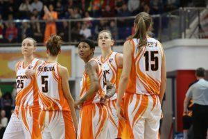 Jekaterinburgo ekipa iškopė į Eurolygos moterų krepšinio turnyro finalo ketvertą