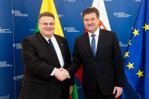 L. Linkevičius Sanglaudos draugų susitikime: neturėtume kurti dviejų greičių Europos