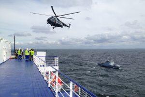 Reaguojant į KJP Jūrų gelbėjimo koordinavimo centro pranešimus išgelbėti 35 žmonės