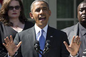B. Obama telefonu pasveikino P. Porošenką su pergale Ukrainos prezidento rinkimuose
