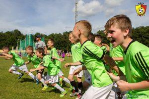 Girionyse karaliaus vaikų futbolas