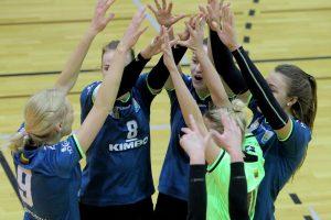 Lietuvos čempionės suklupo Estijoje