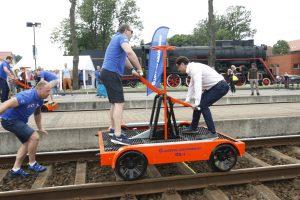 Geležinkeliečiai pasiūlė unikalią atrakciją