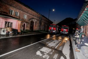 Ugniagesius ant kojų sukėlė gaisras Girstupio gatvėje