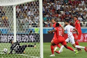 Anglija nugalėjo Tuniso futbolininkus