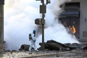 Niujorke sprogus garo magistralei evakuoti 28 pastatai