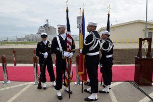 Smūgis Rusijai: Rumunijoje atidaryta JAV priešraketinės gynybos bazė