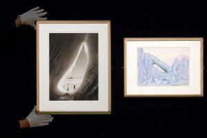 Londone – tragišką R. F. Scotto misiją Antarktidoje iliustruojančios nuotraukos