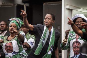 Per ginčijamus rinkimus perrinktas Zambijos prezidentas