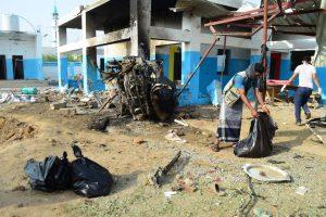 Jemeno ligoninės atakai buvo panaudota JAV gamybos bomba