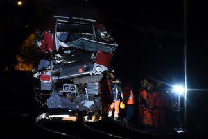Pietų Prancūzijoje per traukinio avariją sužaloti 8 žmonės
