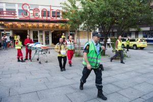 Osle įgriuvus koncertų rūmų stogui sužeista 15 žmonių