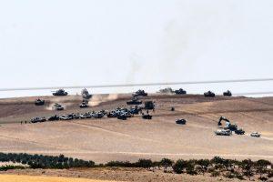 Ankarą palaikantys sukilėliai iš džihadistų perėmė Sirijos gyvenvietę
