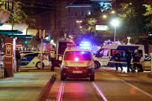 Budapeštą sudrebinusio sprogimo taikinys buvo policininkai