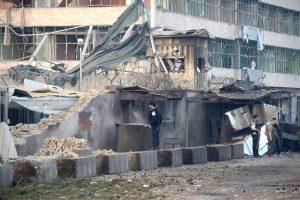 Per išpuolį prieš Vokietijos konsulatą Afganistane žuvo mažiausiai šeši žmonės