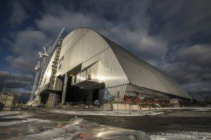 Naujasis sarkofagas Europą nuo Černobylio elektrinės apsaugos 100 metų
