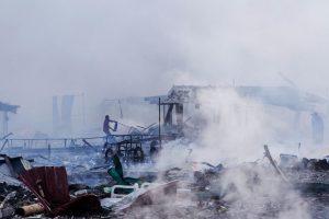 Meksikoje per sprogimą fejerverkų turguje žuvo mažiausiai 31 žmogus (atnaujinta)