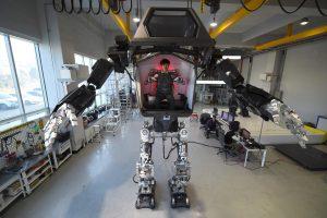 Pietų Korėjos robotas žengia pirmuosius žingsnius
