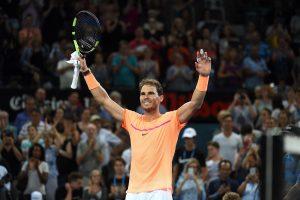 Brisbano turnyre – R. Nadalio šuolis į ketvirtfinalį