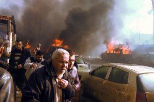 Sirijoje sprogus užminuotam benzinvežiui žuvo 43 žmonės