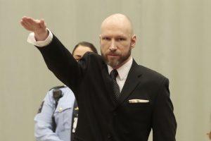 A. B. Breivikas bando skleisti savo ideologiją iš kalėjimo