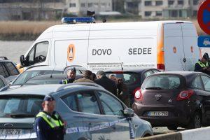 Belgijoje sulaikytas vyras, bandęs automobiliu rėžtis į minią