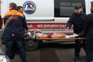 Teroro aktas Sankt Peterburgo metro: žuvo mažiausiai 11 žmonių