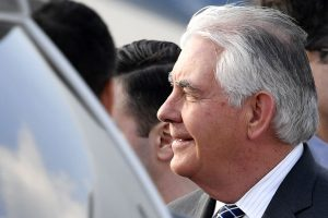 R. Tillersonas atvyko Maskvą aptarti Sirijos konflikto