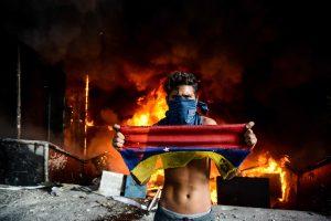 Padėtis Venesueloje: masiniuose protestuose išskirtinai daug smurto