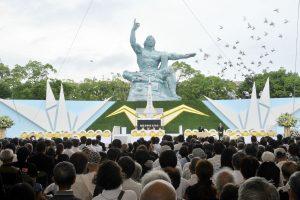 Japonija mini Nagasakio bombardavimo 72-ąsias metines