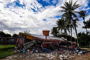 Žemės drebėjimo Meksikoje aukų padaugėjo iki 90