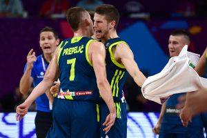 Slovėnų šedevras: dviejų milijonų tauta nukarūnavo čempionus