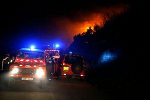 Korsikoje gaisrai sunaikino 2 tūkst. ha miško