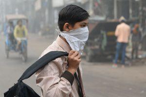 Delyje dėl tiršto smogo uždarytos visos mokyklos