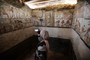 Egipto archeologai pademonstravo 4,7 tūkst. metų senumo kapą