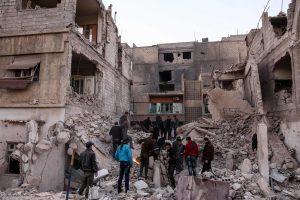 Oro antskrydžiai Sirijoje pražudė mažiausiai 47 civilius