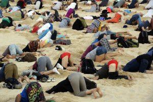 Kovos su klimato kaita aktyvistai – stručių kailyje
