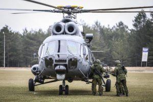 Ažiotažą dėl remonto Rusijoje sukėlę sraigtasparniai – sutaisyti