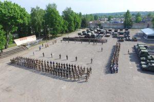 Į pratybas Kaune susirinko apie 1200 NATO karių